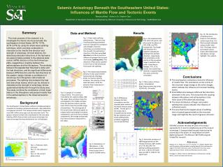Seismic Anisotropy Beneath the Southeastern United States: