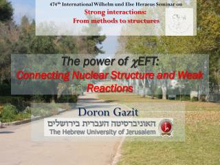 The power of  c EFT : Connecting Nuclear Structure and Weak Reactions