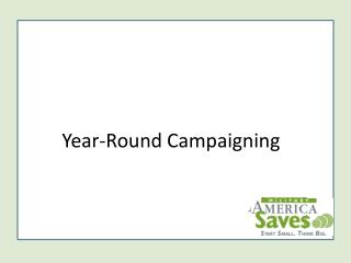 Year Round Campaigning Powerpoint