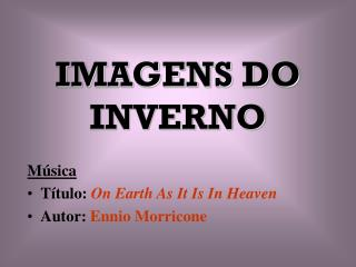 IMAGENS DO INVERNO