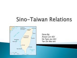 Sino-Taiwan  Relations