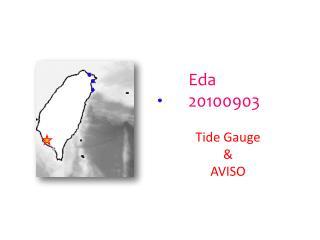 Eda 20100903 Tide Gauge & AVISO