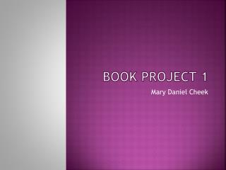 Book Project 1