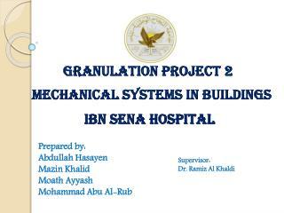 Granulation Project 2