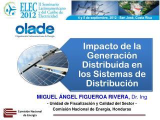 MIGUEL ÁNGEL FIGUEROA RIVERA,  Dr.  Ing - Unidad de Fiscalización y Calidad del Sector -