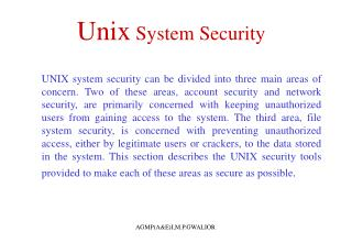 Unix Secure  - By AGAE-I