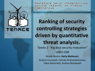 Ranking of security controlling strategies driven by quantitative threat analysis.