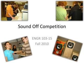 Sound Off Competition