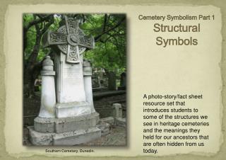 Cemetery  Symbolism Part 1  Structural Symbols
