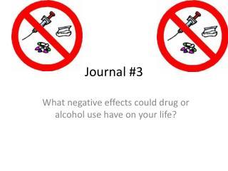 Journal  # 3