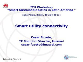 Smart utility connectivity
