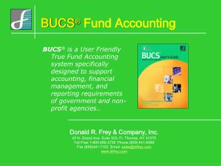 BUCS  Government Fund Accounting