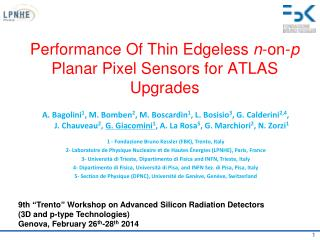 Performance Of Thin Edgeless  n -on- p  Planar Pixel Sensors for ATLAS Upgrades