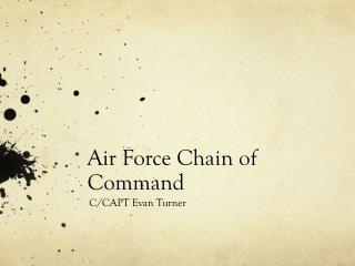 Air Force Chain of Command