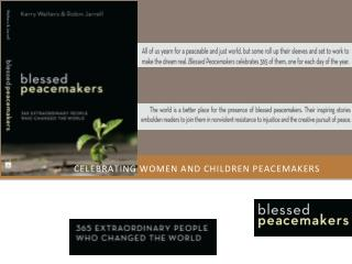 Celebrating women and children peacemakers