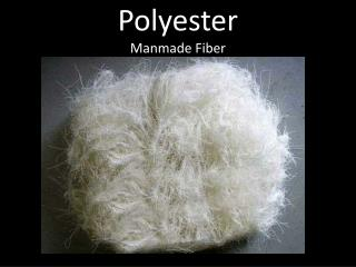 Polyester Manmade Fiber