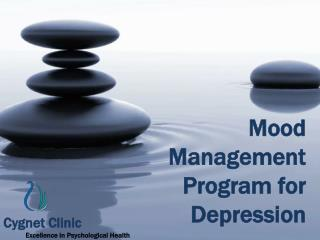 Mood Management Program for Depression