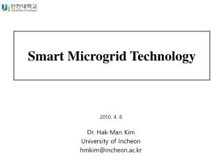 Smart Microgrid Technology