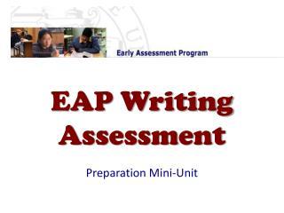 EAP Writing Assessment