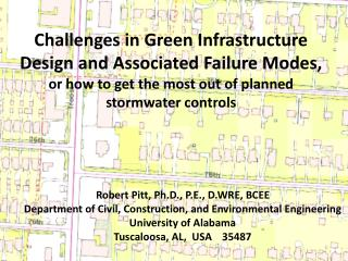 Challenges in  Green Infrastructure Design  and  Associated Failure Modes,