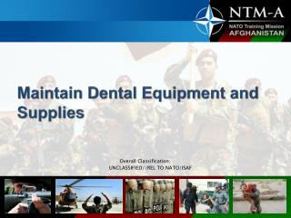 Maintain Dental Equipment and Supplies