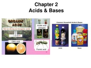 Chapter 2 Acids & Bases