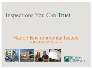 Radon Environmental Issues  for Real Estate Professionals