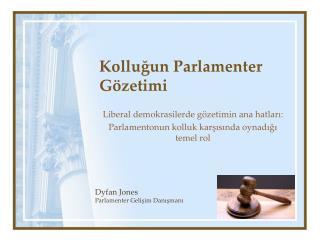 Kolluğun Parlamenter Gözetimi