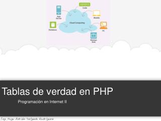 Tablas de verdad en PHP