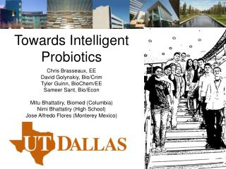 Towards Intelligent Probiotics