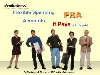 Flexible Spending Accounts ProBusiness