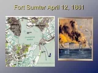 Fort Sumter April 12, 1861