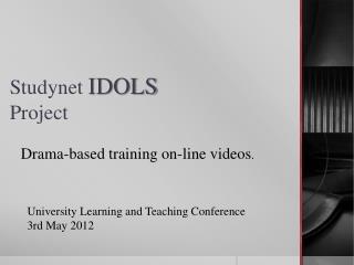 Studynet IDOLS Project