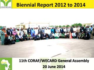 Biennial Report 2012 to 2014