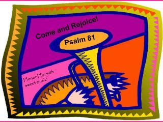 Psalm 81