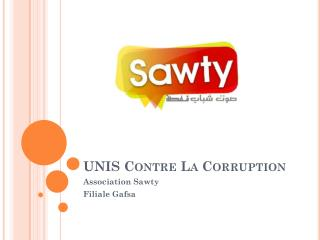 UNIS Contre La Corruption