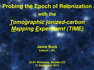 Probing the Epoch of  Reionization with the T omographic I onized-carbon
