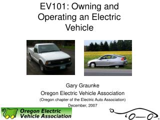 EV101: Owning and Operating an Electric Vehicle