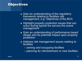 Facility Risk Management
