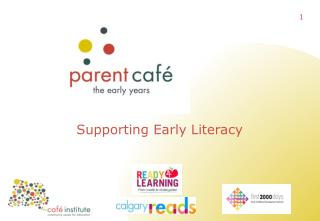 Supporting Early Literacy