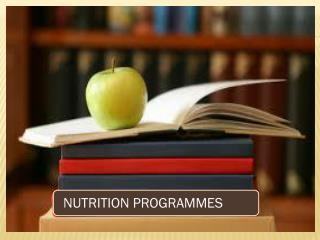 NUTRITION DEFICIENCY CONTROL PROGRAMMES