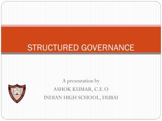 STRUCTURED GOVERNANCE