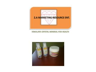 Z.A MARKETING RESOURCE ENT.