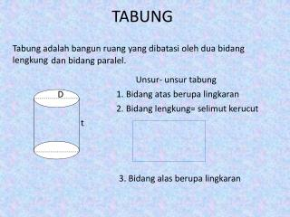TABUNG