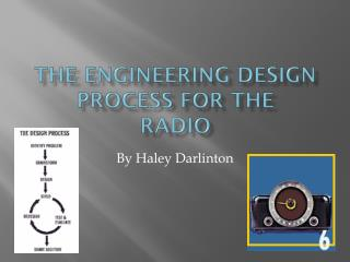 The Engineering Design Process  For The Radio