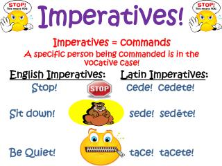 Imperatives!