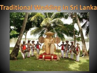 Traditional Wedding in Sri Lanka