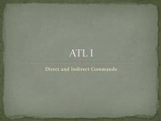 ATL I