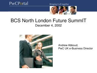 PwC Portal Introduction Pack
