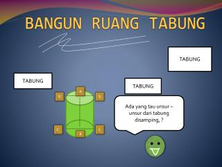 BANGUN RUANG TABUNG